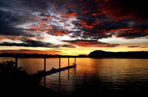 Gastineau-Channel-Sunset