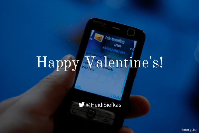 A Text for Valentine's Day
