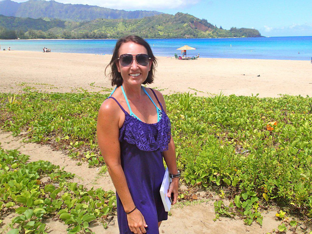 Happy Look Up Day – Reading From When All Balls Drop in Hanalei Bay, Kauai