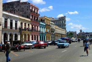 Street_by_Capitol_Havana_Cuba_by_Heidi_Siefkas
