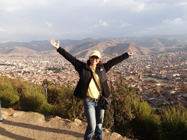 Look Up Reminder from 11,000 Feet in Cusco Peru