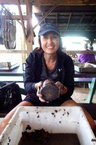 Heidi_Siefkas_cleaning_taro_North_Shore_Kauai