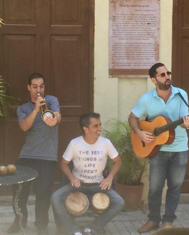 Cuban_trio_playing_in_Old_Havana_by_Heidi_Siefkas