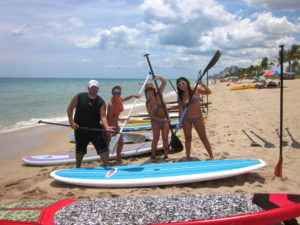 SUP_Group_on_Fort_Lauderdale_Beach_Florida