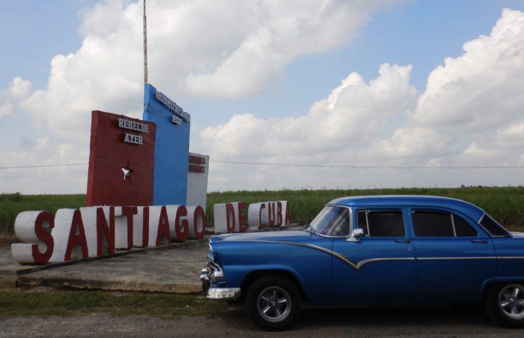 Entering_Santiago_de_Cuba_and_Classic_Car