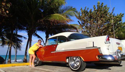 Author_Heidi_Siefkas_Varadero_Cuba_with_Convertible